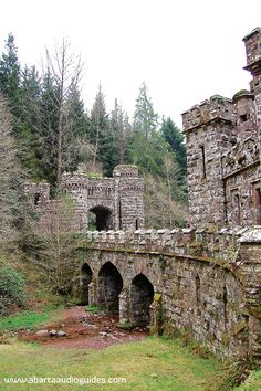 The Towers, Lismore, Waterford, Ballysaggartmore, County Waterford, places to see in Waterford, Waterford heritage sites, nineteenth century folly, Irish famine, woodland walks, days out in Ireland, Lismore Waterford, hidden Ireland, places to see in Munster,