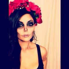 maquiagem halloween - make up halloween - diy makeup - More