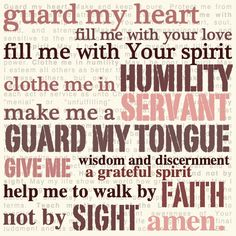 My Prayer Today & Always!