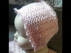 f5d6ea80d24d8 gorro bebe crochet baby hat (with subtitles in several lenguage)
