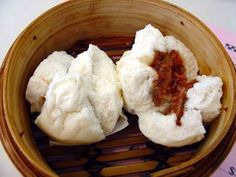 Char Siu Bau: One of my favourite things to order at dimsum  BBQ Pork Bun