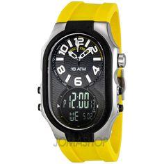 Philip Stein Signature Analog-Digital Mens Watch 3RB-AD-RY $799.99
