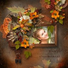 Amazing pages made with A Graceful Splendor Bundle (PU/S4H) by #Feli Designs.  #theStudio #digiscrap