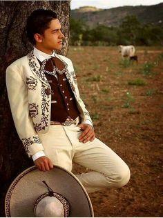 Handsome Mexican Charro.