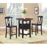Found it at Wayfair - Atwood 3 Piece Counter Height Dining Set