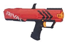 Nerf finally grows up.and brings to the market a pair of Nerf blasters like the world has never seen before. Meet the Nerf Rival blasters, Apollo and Zeus Megalodon, Nerf Gun Attachments, Frozen Canvas, Arma Nerf, Pistola Nerf, Westerns, Nerf Toys, Nerf War, Gadgets