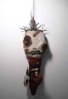 Handmade Art Doll (Voodoo Immortale) by Junker Jane.  http://www.etsy.com/listing/165156839/handmade-art-doll-voodoo-immortale?ref=shop_home_active
