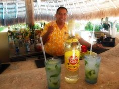Did you know we offer bar tending classes each week at #SecretsAuraCozumel?