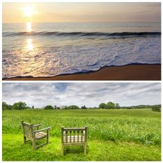 Would you rather relax beachside or countryside in Delaware?