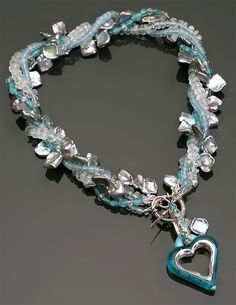 Ice Princess Necklace by Beth Williams