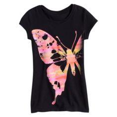 Mudd Butterfly Tee - Girls 7-16