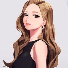 ♡ Pretty Anime Girl, Cool Anime Girl, Cute Anime Pics, Beautiful Anime Girl, Kawaii Anime Girl, Anime Art Girl, Girl Cartoon, Cartoon Art, Manga Girl