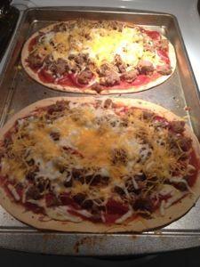 Picker Dreams: Homemade Pizza's - 6 WW Points