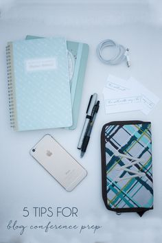Five tips to prepare you for a blogging conference, big or small. #bloggingbetter