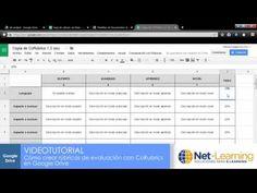 Co-Rubrics (plantilla). Cómo crear rúbricas automáticas en Google - YouTube
