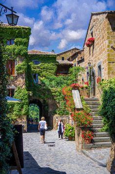 Civita di Bagnoregio, Umbria_ Italy