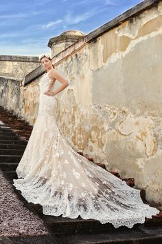 The best wedding gown is the one who makes a statement we have just the thing. Say hello to our fabulous MELANIE gown. This is a bridal favorite and it's easy to see why. Click the link for more info and styles. Wedding Tips, Wedding Events, Wedding Gowns, Dream Wedding, Weddings, Wedding Planning Inspiration, Bridal Stores, Mermaid Gown, Dress Silhouette