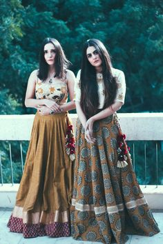 Leather and Lehengas