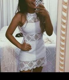 Most beutiful Crochet Blouse models and Ideas Crochet Blouse, Crochet Lace, Crochet Bikini, Diy Crochet Gloves, Crochet Clothes, Crochet Designs, Crochet Patterns, Blouse Models, Crochet Fashion