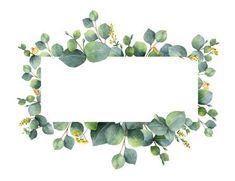 New Flowers Acuarela Illustration Wedding Invitations Ideas Flower Background Wallpaper, Flower Backgrounds, Frame Background, Powerpoint Background Design, Floral Border, Flower Frame, Watercolor Flowers, Drawing Flowers, Painting Flowers