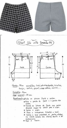 Exceptional 10 Sewing projects are readily available on our internet site. Check it out and you wont be sorry you did. Pattern for Short Pants Trash To Couture: All About Sleeves: How to add the Sewing Dress, Sewing Shorts, Dress Sewing Patterns, Sewing Patterns Free, Sewing Clothes, Clothing Patterns, Pattern Sewing, Crochet Patterns, Pattern Drafting