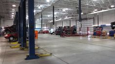 Our service shop has 18 bays and the right technicians to service just about any make and model automobile!