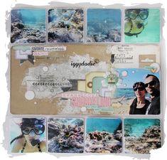 hawaii project life   Kit Project Life de Février : mes pages - Scrappadingue - Le scrap d ...