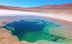 """""""Ojo de Mar"""" """"Salar Tolar Grande"""" """"Cordillera de los Andes"""" """"Talar Grande"""" - Photo taken in Los Andes - Salta, Argentina. tomada por: Omar Gobbi"""