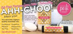 Perfectly Posh Pamper Your Cold $26/set www.perfectlyposh.us/chantelbame #coldstink #takecareofit
