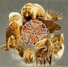 The Great Native American Spirit Guides #totem