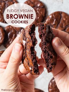 Vegan Chocolate Brownies, Vegan Brownie, Chocolate Desserts, Chocolate Chip Cookies, Decadent Chocolate, Dairy Free Cheesecake, Dairy Free Brownies, Dairy Free Cookies, Cookies Vegan