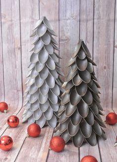 Más ideas para originales árboles de Navidad