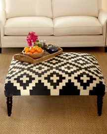 indian patterned ottoman fr neimans