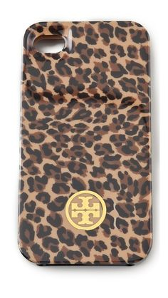 Tory Burch Bengal Small iPhone 4 Case. Love it.