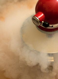 Liquid Nitrogen Ice Cream - I use a different recipe but it is so creamy and yummy!
