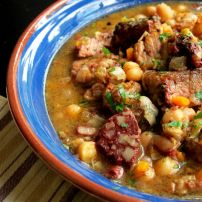 Spanish Pork, Chickpea & Black Pudding Stew Spanish Pork, Malay Food, Black Pudding, Chicken Curry, Cape Town, Stew, Asian, Traditional, Meat