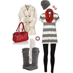 What I love most about this outfit, is everything is moderately priced!!