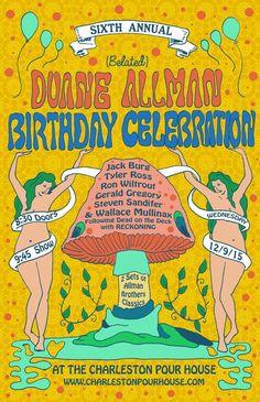 Duane Allman Birthday Celebration :: The Charleston Pour House :: December 9th 2015 :: Charleston, SC