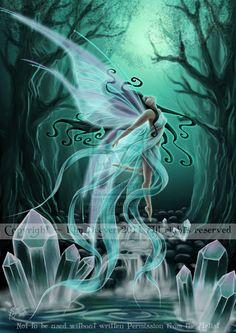 Crystal Ascension by AmberCrystalElf on deviantART~☆~