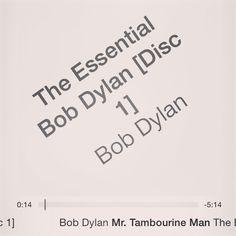 """Mr. Tambourine Man"" Bob Dylan - Essential Bob Dylan (collection)"