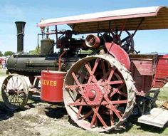 Family Has High Regard for Its 1917 Reeves 16 HP Steam Traction Engine
