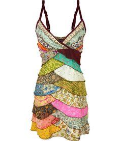 Recycled Sari Dress.