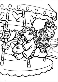 My Little Pony Color Page Cartoon Characters Coloring Pages Plate Sheetprintable Picture