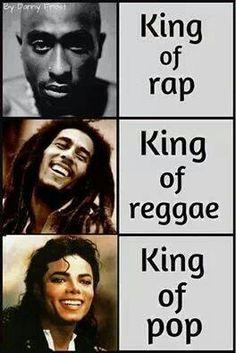 Tupac Shakur Bob Marley Mchael Jackson