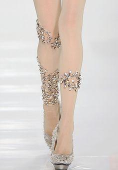 Meia-calça com brilho! Vocês usariam?