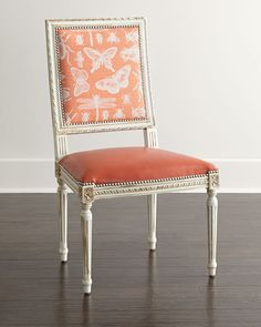 Butterfly Dining Chair by Massoud at Neiman Marcus.