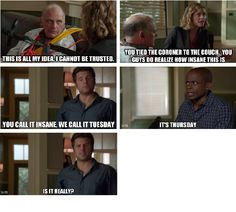Is it really? Psych Memes, Psych Tv, Psych Quotes, Funny Memes, Shawn And Gus, Shawn Spencer, See Movie, Movie Tv, Real Detective