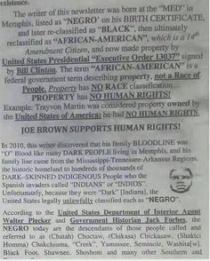 """Keep this in mind all you proud """"African Americans"""" and all other interested parties who honor truth above deception and tradition.  This goes for every other Negro that has been 'renamed' by Europeans based on where slavery left their descendants at post Trans Atlantic Slave Trade. #wakeupblackhebrews #researchforyourselves"""