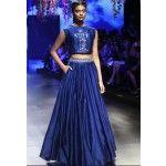bhagalpuri-silk-thread-work-blue-designer-semi-stitched-lehenga