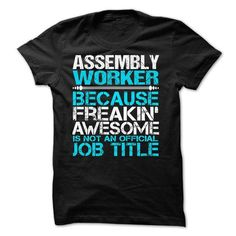 Assembly Worker - #old tshirt #sweater dress. OBTAIN LOWEST PRICE => https://www.sunfrog.com/LifeStyle/Assembly-Worker-57911015-Guys.html?68278